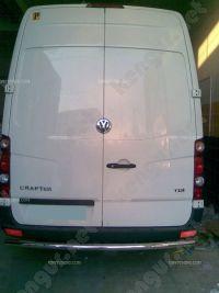 Защита заднего бампера Volkswagen Crafter