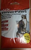 Наполнитель бентонитовый Бархатные лапки (Velvet Paws), средний 5 кг