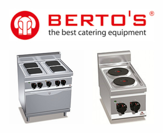 Плиты электрические Bertos (Италия)