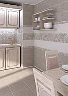 Плитка облицовочная для ванной кухни Рамина Belani серая