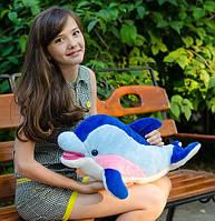 Мягкая игрушка плюшевый Дельфин Фенси (средний)