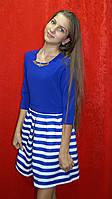 Платье стильное полосатое для девочки Kas kids, фото 1