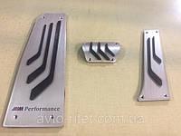 Накладки на педали M Performance для BMW  E60, E61,  E63, E64,E65
