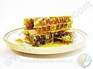 Мед в сотах натуральный, сотовый мед, 1 шт