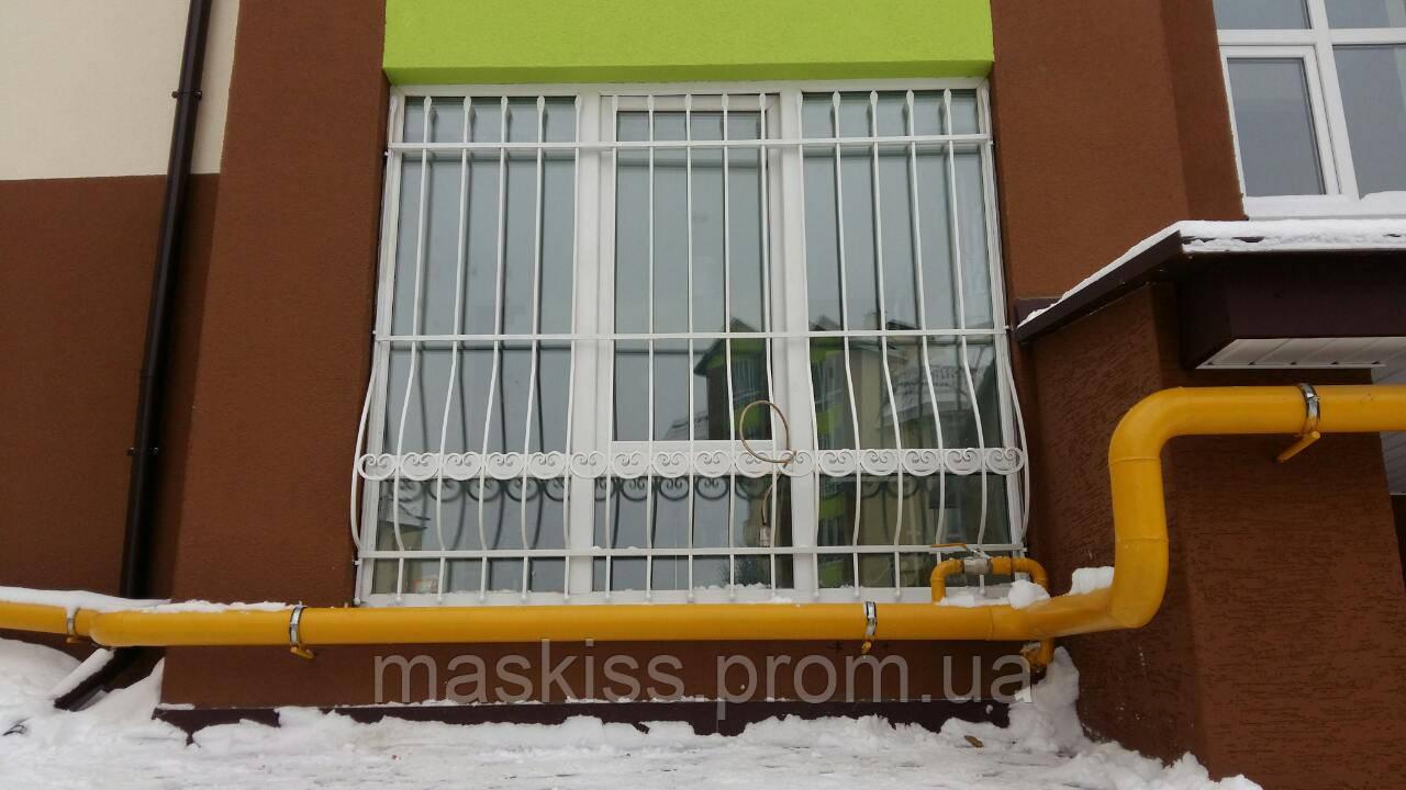 Кованая решётка на окна