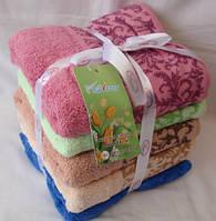 Банные махровые полотенца 100% хлопок
