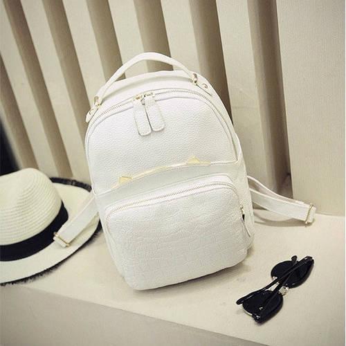 Женский рюкзак с ушками из кожзама