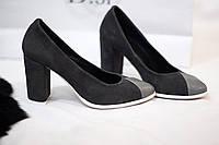 Стильные и комфортные женские туфли от TroisRois из натурального замша и кожи