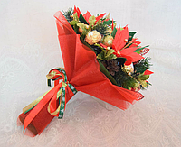 """Новогодний букет из конфет""""Сюрприз"""" № 3"""