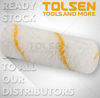 Малярный валик Tolsen 100 мм (Диаметр: валик 15мм,ворс 12,ручка 6мм
