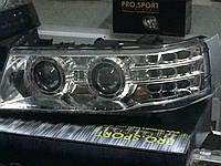 Передние фары  ВАЗ 2110/2112 Agressor,хром