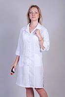 Габардиновый белый медицинский халат от производителя. Опт и розница