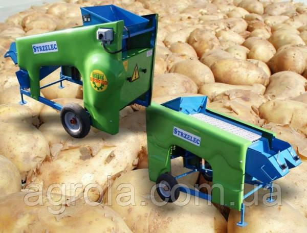 Сортировка картофеля и лука (картофелесортировщик) Krukowiak M-637
