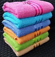 """Яркие лицевые махровые полотенца с вышивкой """"Сакура"""""""