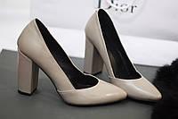 Стильные и комфортные женские туфли-лодочки от TroisRois из натуральной кожи