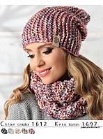 Теплый модный шарф-снуд от Pawonex - Keto.