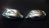 Хромированные накладки на зеркала Lanos ( Avtoclover)