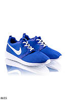 Кросовки Nike синего цвета