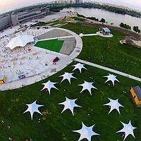 Шатры Звезда купить 11 метровые по Украине с бесплатной доставкой, за 1 день