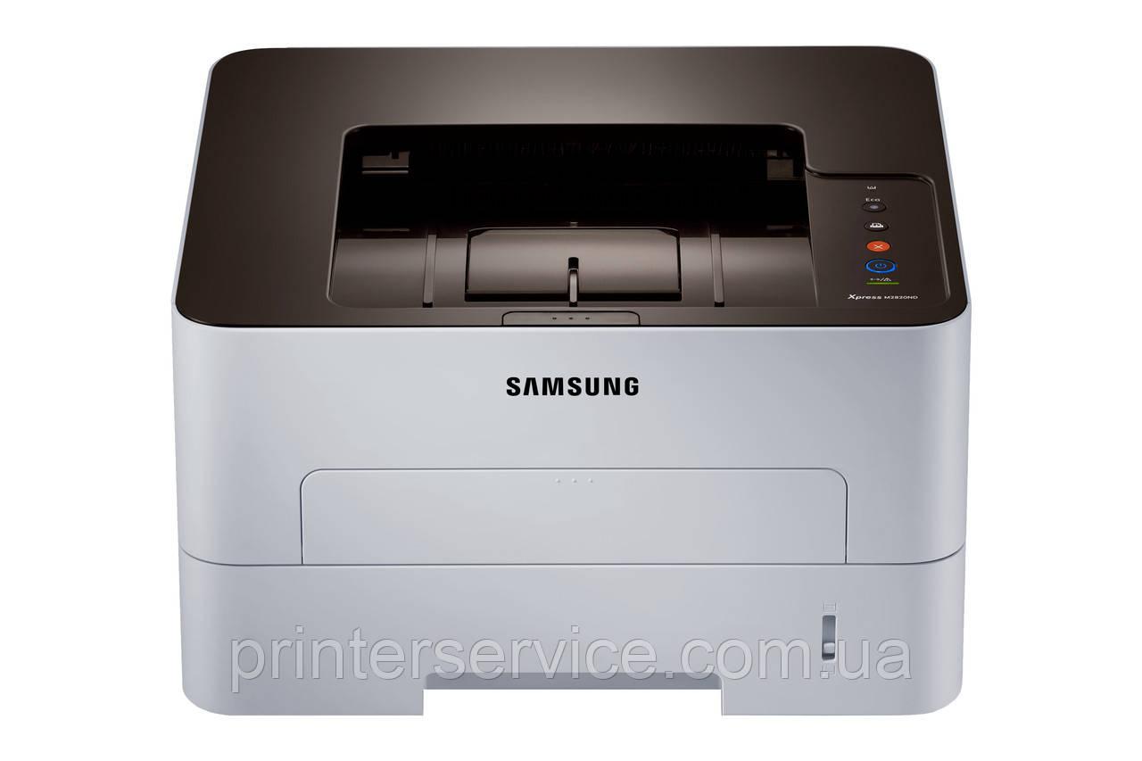 Пpинтер А4 Samsung SL-M2820ND (28 стр/мин, USB2.0, сетевой, двусторонняя печать)