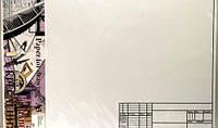 Бумага для черчения А3 РАМКА №6 10л ПК3410ГЕ горизонтальная