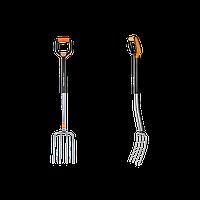 Вилы Fiskars Xact M 133480 для работы с почвой средние , фото 1