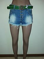 Джинсовые шорты короткие RedBlue 7006