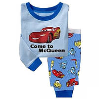 Пижама для мальчика Тачки. Быстрый старт