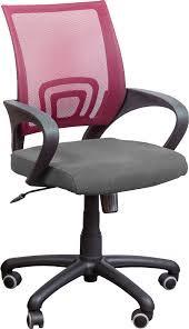 Кресло Веб сиденье Сидней-20/спинка Сетка бордовая