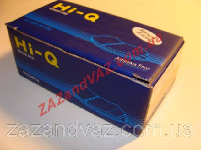 Колодка тормозная передняя HI-Q Nubira Нубира Lacetti Лачетти Nexia Нексия Espero Tacuma 1.6 оригинал SP1077