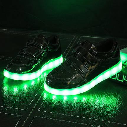 90554f7f Детские лаковые кроссовки с подсветкой : продажа, цена в Кременчуге ...