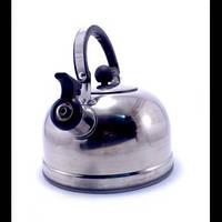Чайник 2,5 л, нержавейка, свисток, фото 1
