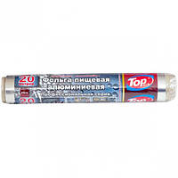 Фольга алюминиевая 29*20м супер плотная 30мкм Top Pack