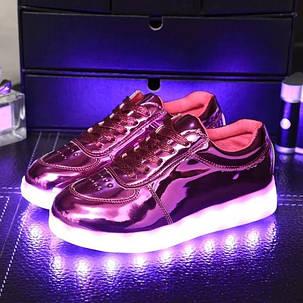 Детские кроссовки со светящейся подошвой  , фото 2