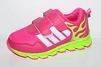 Спортивная детская обувь.Детские модные кроссовки для девочек от фирмы Boyang 0523A (6пар 25-30)