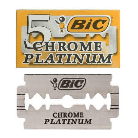 """Лезвие """"BIG Chrom Platinum"""" (20 x 5)"""