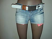 Шорты джинсовые светлые короткие Liuzin 0801, фото 1