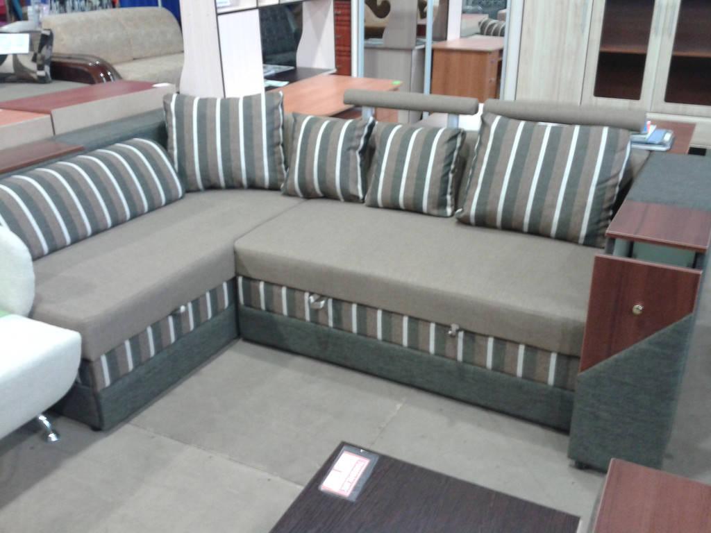 Угловой диван Оксфорд (Бусол) в разных категориях ткани