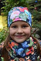 Детские весенние шапки для девочек