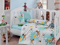 Комплект постельного белья для новорожденных Cotton Box Bambis Turkuaz