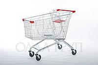 Грузовая тележки торговая для супермаркетов 180 литров