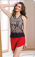 LADY TEXTILE Майка+шорты 7157