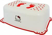 Подставка Maltex Hello Kitty с нескользящими резинками белая (5114)