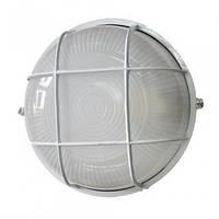Накладной настенный светильник Magnum MIF 012, 100 Вт, тип цоколя E27, решетка белая/черная, 256х129 мм