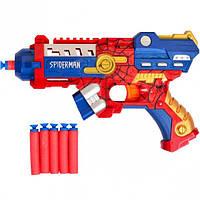 """Пистолет с поролоновыми пулями """"Человек паук"""" 286"""