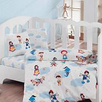 Комплект постельного белья для новорожденных Cotton Box Masal Dunyasi Bordo