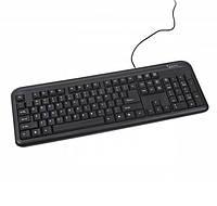 Клавиатура Gembird KB-101-UA, PS/2, Black ( KB-101-UA) Rus. Ukr.