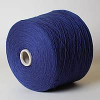 Пряжа Platinette, синий тёмный (88% меринос, 12% кашемир; 400 м/100 г)