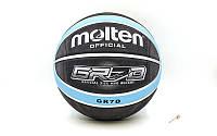 Баскетбольный мяч №7 Molten GRB7D (резина)