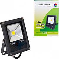 Прожектор LED уличный 10W теплый
